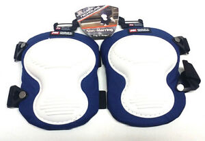 McGuire Nicholas 353X 1 Non Marring Kneepads in Blue and White Color Combination