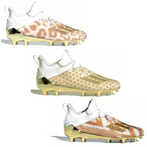 New Adidas Adizero X Anniversary Football Cleats White/Gold - Pick Style & Size!