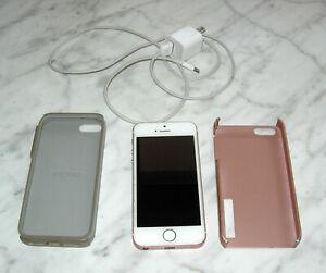APPLE iPHONE SE 128 GB, MODEL A1662 ROSE COLOR