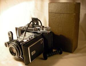 MOSKVA-2 6x9 cm 120 type film camera w INDUSTAR-23 110mm USSR Zeiss Ikonta copy