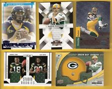 Serial Numbered Aaron Rodgers Lot Original Football Cards