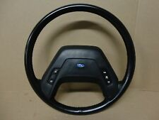 Ford F350 F250 F150 Pickup Truck Factory Leather Steering Wheel 87-91 XLT Lariat