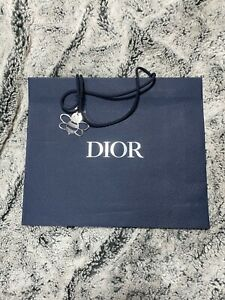 Authentic Dior Gift Bag in Blue