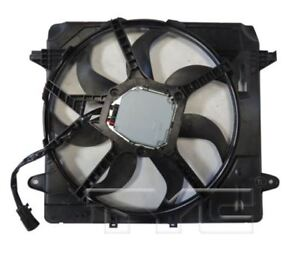 TYC 624080 Dual Rad&Cond Fan Assy for Jeep Wrangler 3.6L 2012-2018 Models
