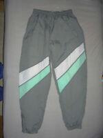 vintage Nylon Trainingshose Jogger Ballonseide Jogginghose pants oldschool M/L