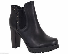 Women's Formal Synthetic Leather Zip Ankle Boots