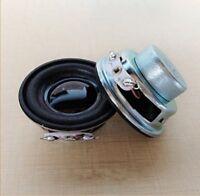 "2pcs 1.5""inch 40mm 4ohm 3W 4Ω full-range speaker loudspeaker HiFi audio parts"