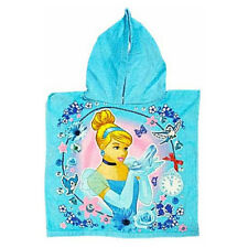 Disney Princess Cinderella Enfants Bain Poncho À Capuche Serviette Filles Officiel