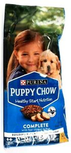 1 Bag Purina Puppy Chow 8.8 Lbs Complete Real Chicken & Rice Dog Food BB 9/2021