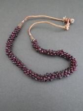 Vintage Art Deco Garnet Necklace