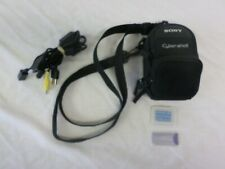 Sony Cyber-Shot Camera Protective Carrying Case with Memory Cards & Cables