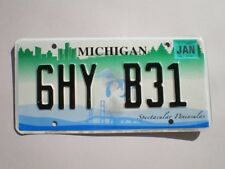 AUTHENTIC 2008 MICHIGAN LICENSE PLATE