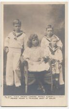 Royalty; TRH Prince Edward, Prince Albert, Prince Henry RP PPC By Beagles, 271C