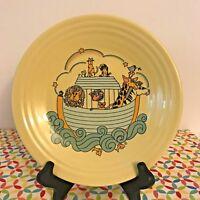 Fiestaware Yellow Cruisin Noahs Ark Lunch Plate Fiesta Exclusive Luncheon