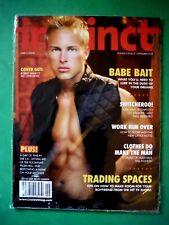 INSTINCT MAGAZINE / September 2002 / Gay Interest