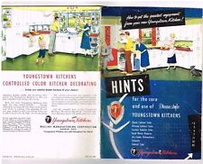Vintage Youngstown Kitchen Cabinet Diana Style Owners Manual Booklet 1954 Hints