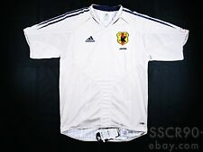 Men's adidas Japan 2004 Away Player issue soccer jersey Football Shirt P4886