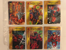 Overpower Deadpool Hero Card Set