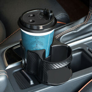 Car Auto Seat Cup 2 Holder Drink Beverage Coffee Truck Bottle Mount Accessories