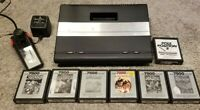 Atari 7800 Prosystem Console Lot Bundle COMPLETE MODERN TV READY! ONE OWNER