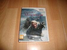 CURSED MOUNTAIN RVL-RQ6X-ESP SURVIVAL HORROR PARA NINTENDO Wii NUEVO PRECINTADO