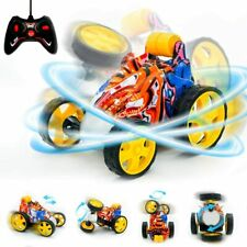 Remote Control Stunt Racing Car, 360° Spinning & Flips Upright, Stunt Car Toy