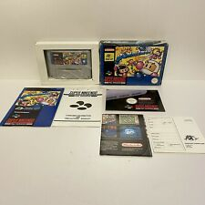 Super Bomberman - Super Nintendo SNES - PAL - Hudson Soft