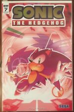 SDCC 2018 SONIC THE HEDGEHOG #7 SAN DIEGO COMIC CON FOIL VARIANT EDITION NM