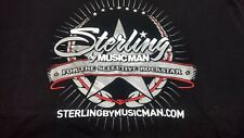 Sterling by Musicman for the selective Rockstar (T-Shirt Black Size XL)