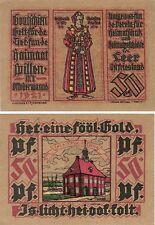 Germania 50 Pfennig 1921 NOTGELD LEER UNC FIOR BANCONOTA-UK Venditore
