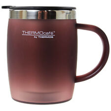 Thermos ThermoCafe 450ml Paprika Touch Home Work Office Tea Coffee Desk Mug Cup