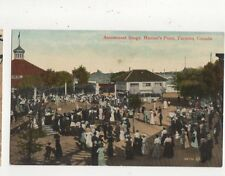 Amusement Stage Hanlans Point Toronto Vintage Postcard Canada 516a