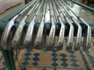 Set of nine Cleveland irons