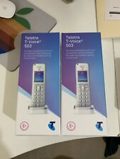 2x Telstra T-Voice 503 DECT Phone Handsets