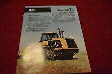 Caterpillar 75 Challenger Tractor Dealer's Brochure AEHQ9340-01 LCOH