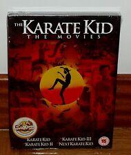 QUATRILOGIA KARATE KID-COLECCION COMPLETA-4 DVD-NUEVO-CASTELLANO-MEW-SEALED