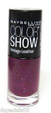 Maybelline Color Show LE Vintage Leather Nail Polish PLUSH PLUM 880