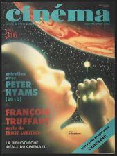 █ Revue CINEMA N°316 Avril 1985 Francois Truffaut █