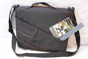 """JanSport First Class 15"""" or 13"""" Laptop Tablet School TSA compliant messenger Bag"""