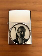 More details for near mint zippo lighter, from russia with love - james bond, sean connery, 2000