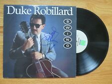 DUKE ROBILLARD signed SWING 1987 Record / Album FABULOUS THUNDERBIRDS COA