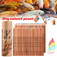 24/36/48/72 Colors Colouring Pencils Set Oil Based Color for Sketch Drawing