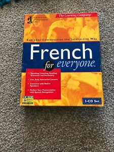 French For Everyone Everyday Conversation The Interactive Way  3CD ROM Set