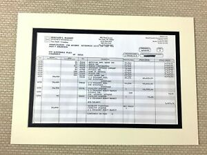 Bernie Madoff Original Financial Statement Report Fraud Ponzi Scheme Memorabilia