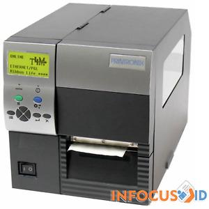 Refurbished Printronix THERMALINE T4M 300DPI Label Printer With New Printhead
