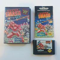 Super Smash TV - Sega  Genesis Game - Boxed With Manual free uk postage