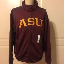 Arizona State University ASU Unisex Size Large Jacket Zip Maroon Gold
