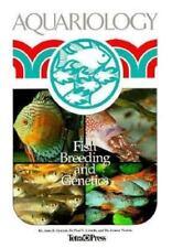 AQUARIOLOGY - Fish Breeding and Genetics Guide Book - Aquarium Care NEW