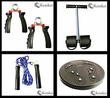 Magnetic Waist Twister Disc, Pedal Arm Expander,Hand Gripper,Skipping Rope