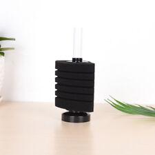 New listing 1x6 Layer Sponge Biochemical Water Corner Filter Black For Fish Tank Aquariu Ntc